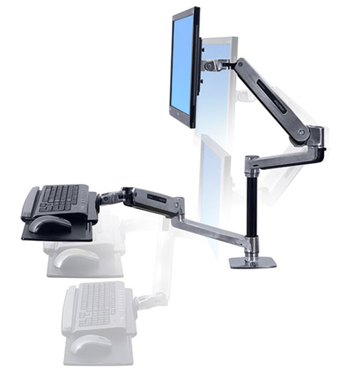 Workfit Lx Sit Stand Desk Mount System Datanet
