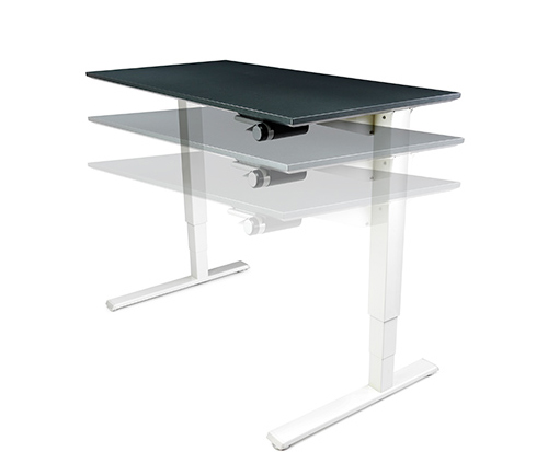 Humanscale Float Height Adjustable Table Base Only Ergopro