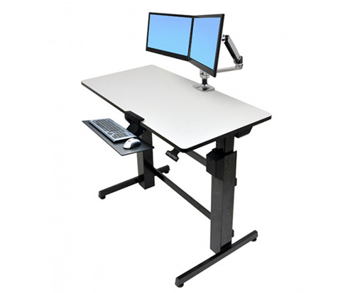 ergotron workfit d sit stand desk datanet rh ergopro com au ergotron workfit-d sit-stand desk (light-grey surface)