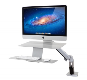 WorkFit-A, Sit-Stand Workstation for Apple