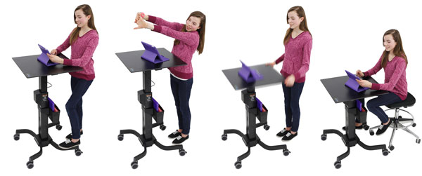 LearnFit Adjustable Standing Desk