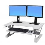 Ergotron-White-height-adjustable-desk