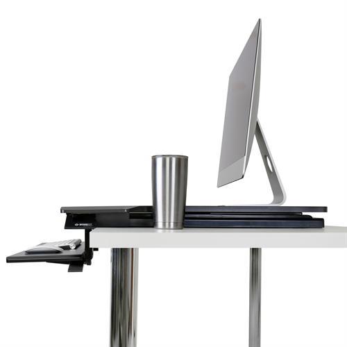 Ergotron WorkFit-TX Standing Desk Converter Side View