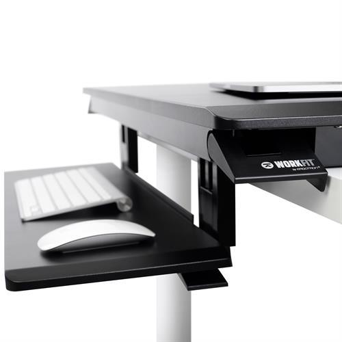 Ergotron WorkFit-TX Standing Desk Converter Keyboard View
