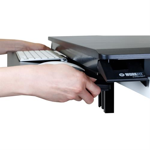 Ergotron WorkFit-TX Standing Desk Converter Pull Keyboard Tray