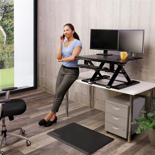 Ergotron WorkFit-TX Standing Desk Converter Raised Office