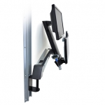 StyleView Sit-Stand Combo Arm with Worksurface