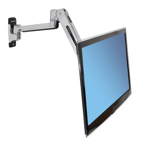 LX Sit-Stand Wall Arm Monitor Down Angle