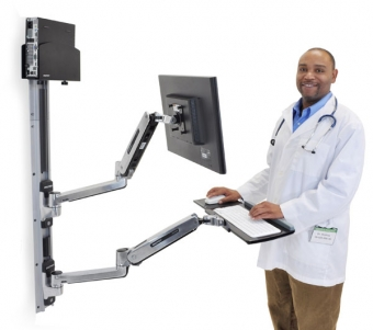 Sit Stand Wall Mount System