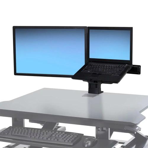 Ergotron WorkFit LCD & Laptop Kit, Universal Assembled