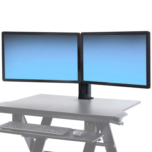 Ergotron WorkFit Dual Monitor Kit, Universal Assembled