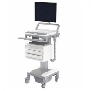 Humanscale T7 Medical Cart Computer