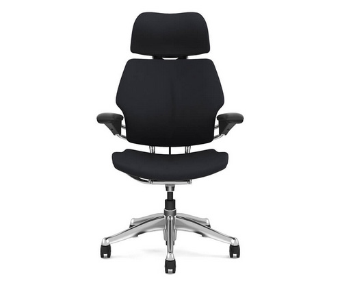 Humanscale Freedom Chair Headrest Front View Ergonomic Chair