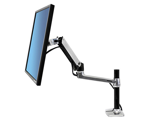 Ergotron LX Desk Mount LCD Arm Tall Pole