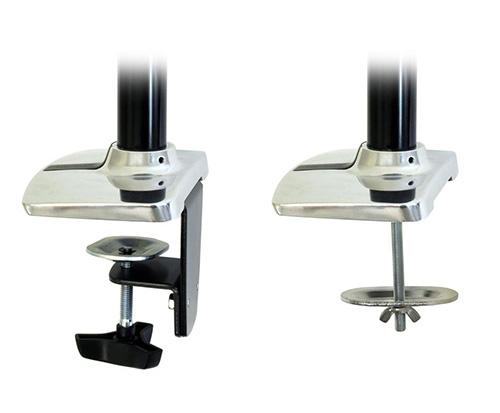 Ergotron LX Desk Mount LCD Arm Tall Pole Clamp Grommet Mount