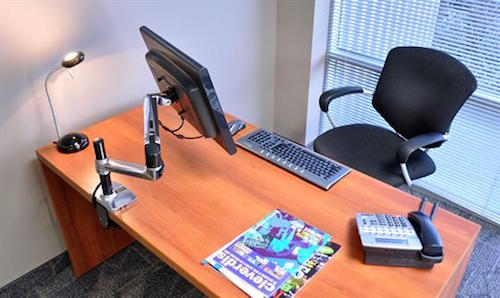 LX_Desk Mount_LCD_Monitor_Arm_Tall_Pole