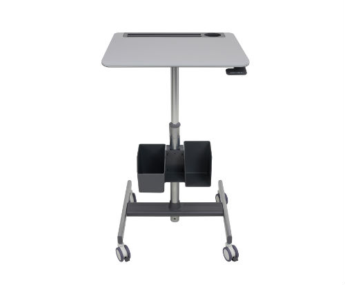 Ergotron Learnfit Standing Desk with storage