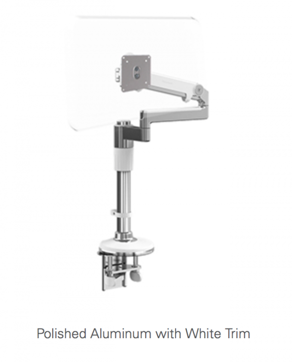 Humanscale MFlex Monitor Arm in White