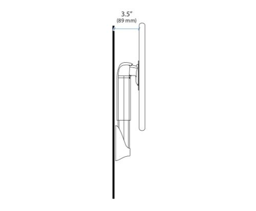 Ergotron Neo flex Wall Mount Lift Dimensions
