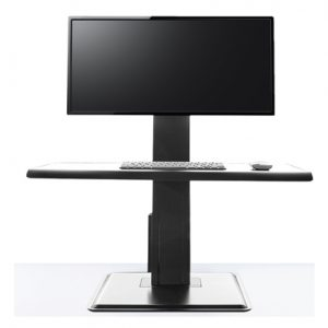 Humanscale QuickStand Eco Single Screen Sit Stand Desk
