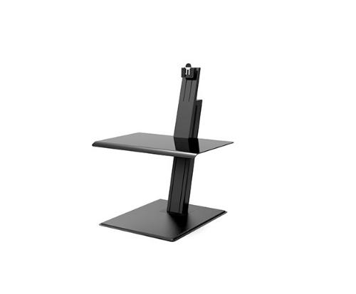 Humanscale QuickStand Eco Single Screen Black Standing Desk