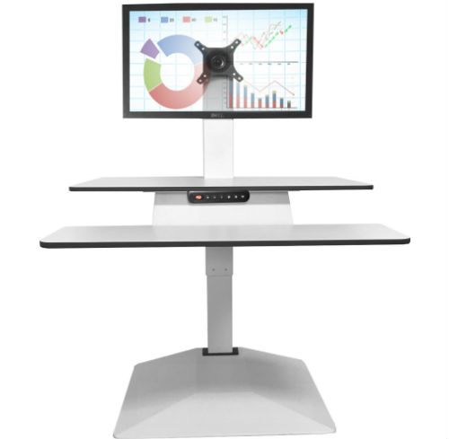 Electric Sit to Stand Desk at Full Height