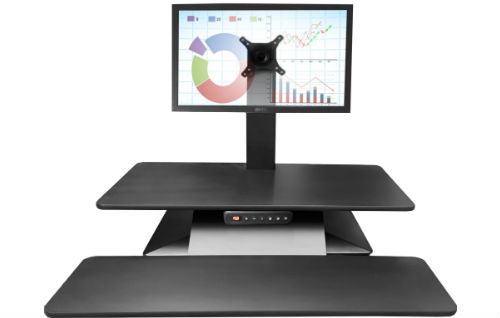 Electric Single Monitor Sit to Stand Desk