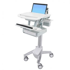 StyleView Laptop Cart, 1 Drawer