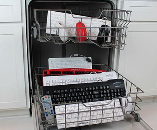 Seal Shield Dishwasher Safe Keyboard