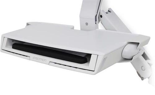 StyleView®_Sit_-_Stand_Combo_Arm_with_Worksurface_(white)