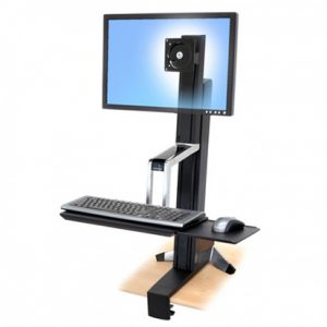 WorkFit-S Single HD Sit-Stand Workstation