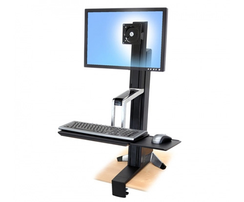 WorkFit-S Single HD Sit-Stand Workstation