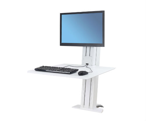 Ergotron WorkFit SR Sit to Stand Desk