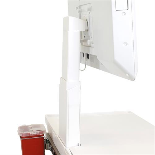Ergotron CareFit™ Slim LCD Cart Back View