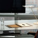 Humanscale M8 Monitor Stand in the Office