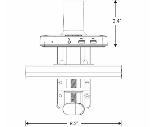 Humanscale M/Connect Docking Station Specs