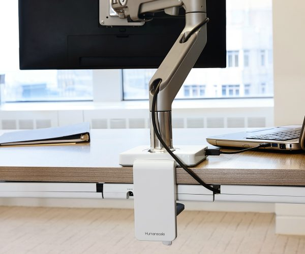 Humanscale M/Connect Docking Station Back Wire Arm